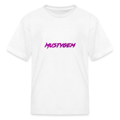 Musty Gem Kid's T-Shirt - Kids' T-Shirt