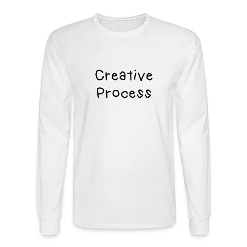 Creative Process x Smiley - Long Sleeve Tee - Men's Long Sleeve T-Shirt
