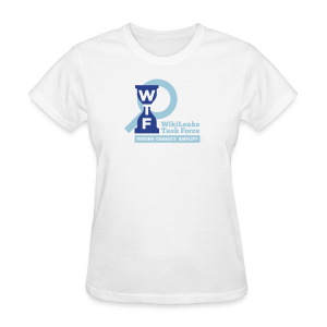 WikiLeaks Task Force - Women's T-Shirt