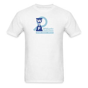 WikiLeaks Task Force - Men's T-Shirt