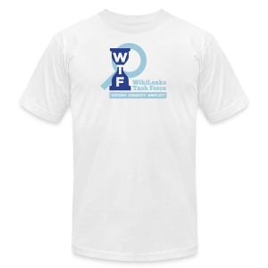 WikiLeaks Task Force - Men's T-Shirt by American Apparel