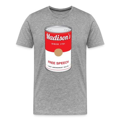 Madison's Free Speech T-Shirt - Men's Premium T-Shirt