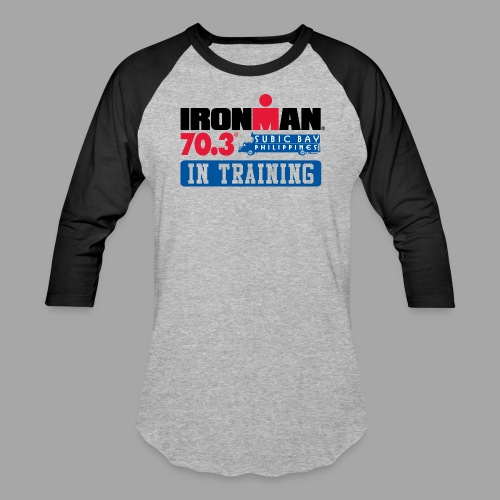 IRONMAN 70.3 Subic Bay Philippines In Training Men's Baseball T-shirt - Baseball T-Shirt