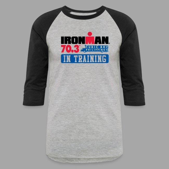IRONMAN 70.3 Subic Bay Philippines In Training Men's Baseball T-shirt