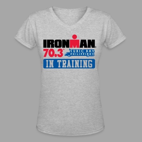 IRONMAN 70.3 Subic Bay Philippines In Training Women's V-Neck T-shirt - Women's V-Neck T-Shirt