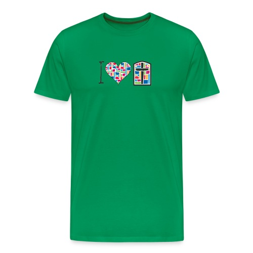 Men's T-Shirt I Love FPGH Design - Men's Premium T-Shirt