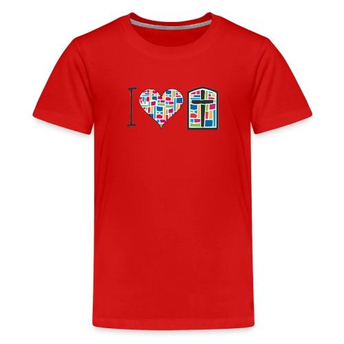 Kid's T-Shirt I Love FPGH Design - Kids' Premium T-Shirt