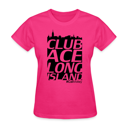 girls city shirt, pink - Women's T-Shirt
