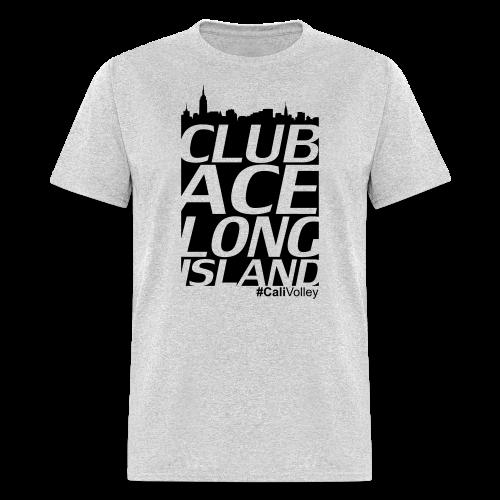 mans city shirt, gray - Men's T-Shirt