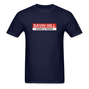 Savin Hall Station - Men's T-Shirt