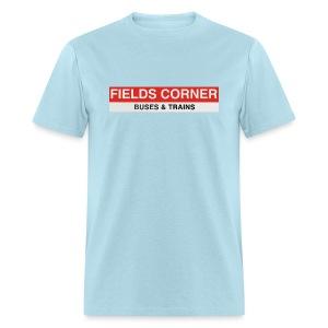 Fields Corner Station - Men's T-Shirt
