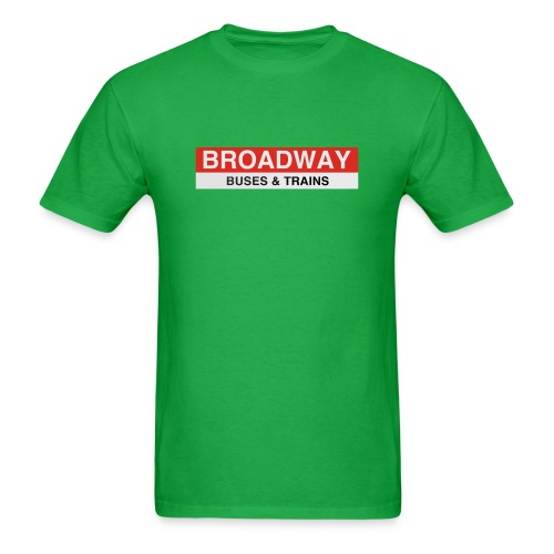 Broadway Station - Men's T-Shirt