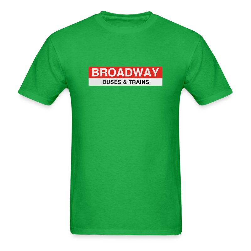Broadway Station - Men's T-Shirt