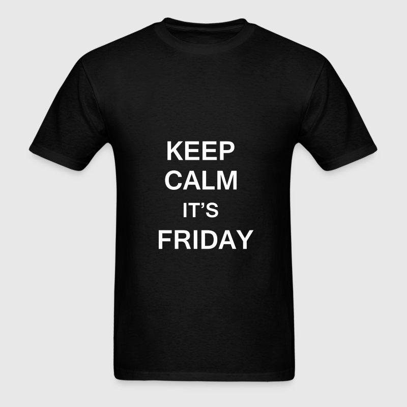 Firiday - Keep Calm It's Friday - Men's T-Shirt
