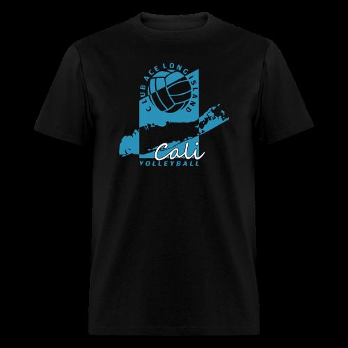 mans logo shirt, black - Men's T-Shirt