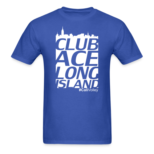 mans city shirt, blue - Men's T-Shirt
