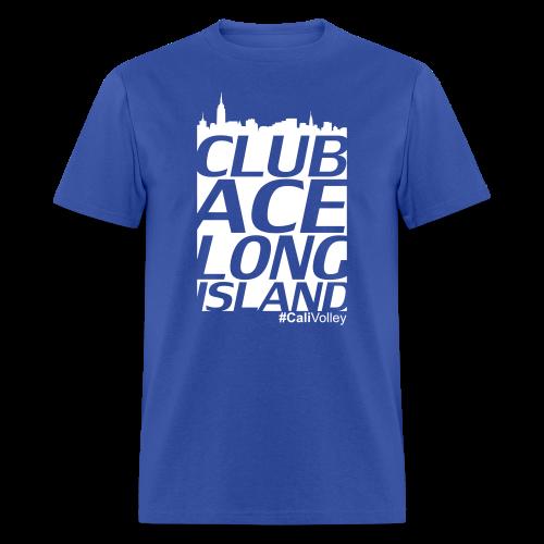 men's city shirt, blue - Men's T-Shirt