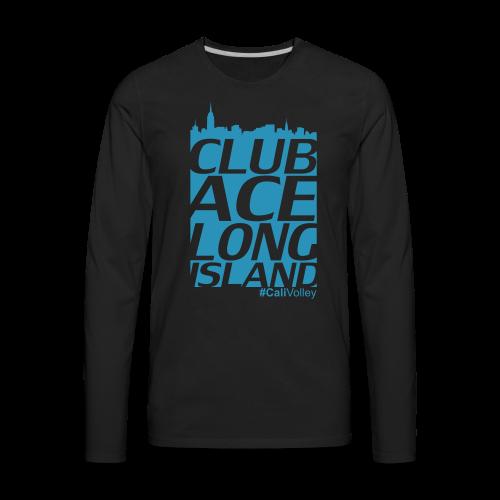 longsleeve city shirt, black - Men's Premium Long Sleeve T-Shirt