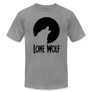 Lone Wolf  - Men's Fine Jersey T-Shirt