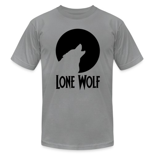 Lone Wolf  - Men's  Jersey T-Shirt