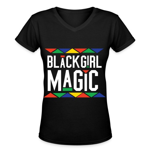 BGM Tee Martin Inspired - Women's V-Neck T-Shirt