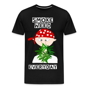 Ganja Boy Smoke Weed Everyday Tee - Men's Premium T-Shirt