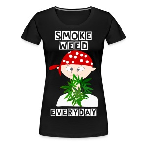 Ganja Boy Smoke Weed Everyday Tee  - Women's Premium T-Shirt