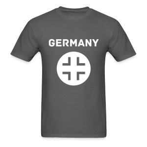 Germany Tee with Block White Text and Logo - Men's T-Shirt