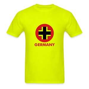 Germany Bright Tee with Logo and Small Lettering - Men's T-Shirt