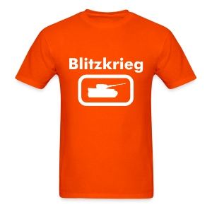Blitzkrieg Tee with Tank Logo - Men's T-Shirt