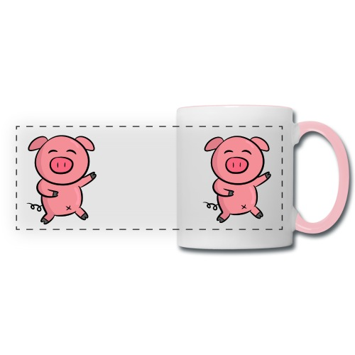 Panormic Piggy mug - Panoramic Mug