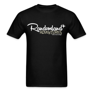 Randomland Adventures Logo (White) Mens - Men's T-Shirt