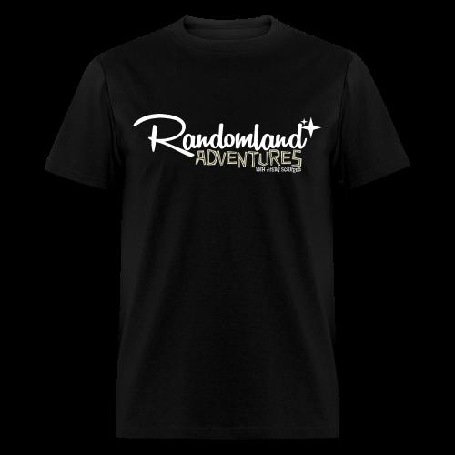 Randomland Adventures Logo (White) Mens - Men's T-Shirt