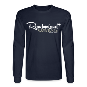 Randomland Adventures logo Long Sleeve Shirt! (Men/Unisex) - Men's Long Sleeve T-Shirt