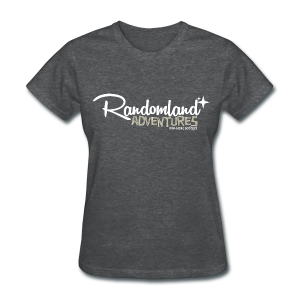 Randomland Adventures Logo (White) Womens - Women's T-Shirt