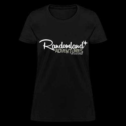 Randomland Adventures Logo (White) Womens - Women's T-Shirt
