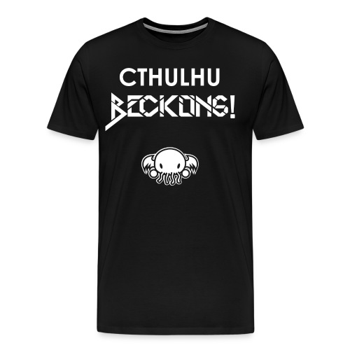 Cthulhu Beckons - Men's Premium T-Shirt