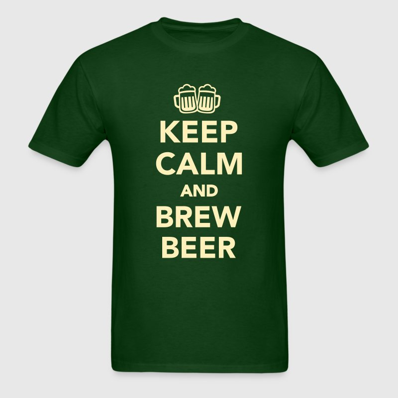 Keep calm and brew beer T-Shirts - Men's T-Shirt
