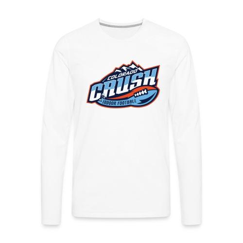 Men's Crush Chest Logo Long Sleeve  - Men's Premium Long Sleeve T-Shirt