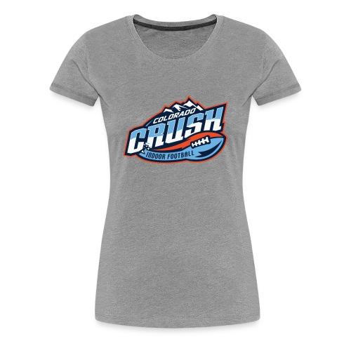 Women's Crust Chest Logo Tee - Women's Premium T-Shirt