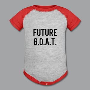 Future GOAT Baby Shirt - Baby Contrast One Piece