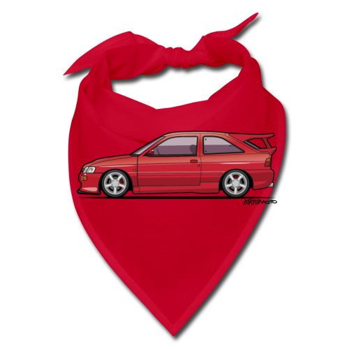 F Escort Mark V RS Cosworth Radiant Red - Bandana
