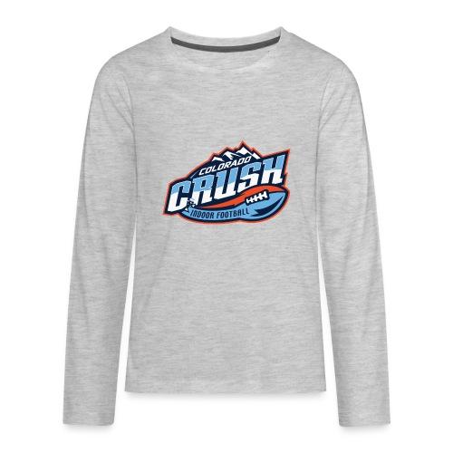 Kids Crush Chest Logo Long Sleeve - Kids' Premium Long Sleeve T-Shirt