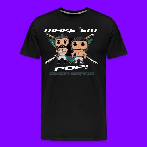 Dixon POP! Extended Sizes - Men's Premium T-Shirt