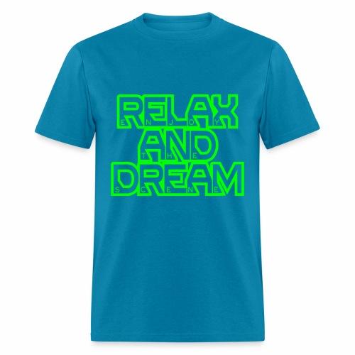 Enjoy the Dream Men's T-shirt (neon green) - Men's T-Shirt