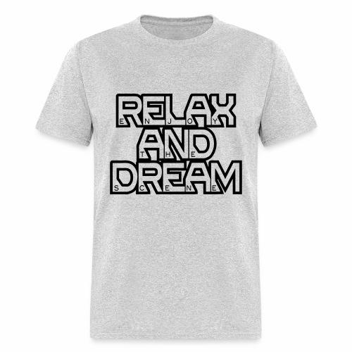 Enjoy the Dream Men's T-shirt (black) - Men's T-Shirt