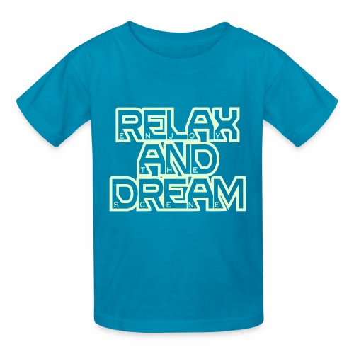 Enjoy the Dream Kids' T-shirt (glow-in-the-dark) - Kids' T-Shirt