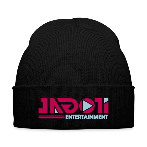 Color Logo Beanie - Knit Cap with Cuff Print