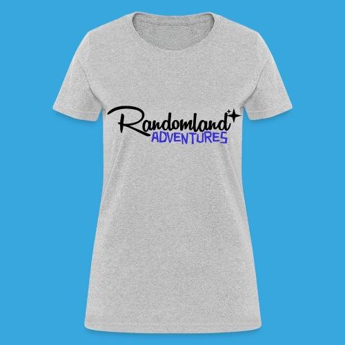 RANDOMLAND ADVENTURES (BLACK) Women's cut - Women's T-Shirt
