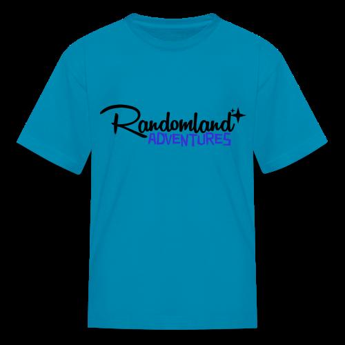 RANDOMLAND ADVENTURES (BLACK) kids - Kids' T-Shirt